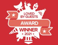 Loved by Guests 2021 Hotels.com award_お客様が選ぶ人気宿アワード受賞!